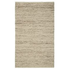 """Gorgeous """"sweater rug""""! The nubby texture would work amazingly well with leather or fabric sofas"""
