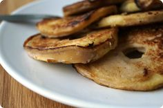 Baked Louie's: Gezonde appelschijfjespannenkoeken