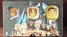Hong Kong Toy Designer Wilson Ma Apexplorers 2106 ARTDOL Family Figure Block Set Full Boxset 6pc