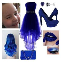 A fashion look from April 2017 featuring blue pumps, quilted bag and white earrings. Browse and shop related looks. My Cousin, Polyvore Fashion, Yves Saint Laurent, Chanel, Shoe Bag, Formal Dresses, Clothing, Stuff To Buy, Shopping