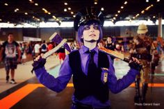 Purple guy cosplay Worldcosplay : worldcosplay.net/member/shiki-… My FB page :www.facebook.com/Shikitycospla… Model : Purple guy Game : Five night at Freddy's