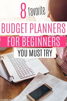 Are you looking to get your budget under control? Here are 8 best budget planners for beginners you must try. Family Budget Planner, Planning Budget, Weekly Budget, Budget Binder, Monthly Budget, Financial Planning, Saving Money Quotes, No Spend Challenge, Cash Envelope System