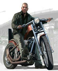 "Johnny ""The Jew"" Klebitz (GTA IV: The Lost and The Damned) Grand Theft Auto 4, Grand Theft Auto Series, World Of Darkness, Rockstar Games, Gta 5, Bikers, Picsart, Playstation, Pop Culture"