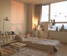 korean bedroom aesthetic room decor seoul beige coffee cream milk tea ideas wooden light soft minimalistic 아파트 침실 アパート 寝室 aesthetic home interior apartment japanese kawaii g e o r g i a n a : f u t u r e h o m e Apartment Interior, Aesthetic Rooms, Apartment Room, Dream Rooms, Small Room Bedroom, Aesthetic Room Decor, Minimalist Room, Room Interior, Room