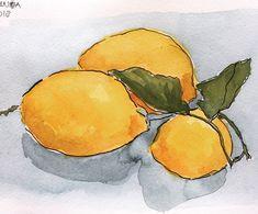 Italian lemons Art For Kids, Art Ideas, Tableware, Illustration, Art For Toddlers, Art Kids, Dinnerware, Tablewares, Illustrations