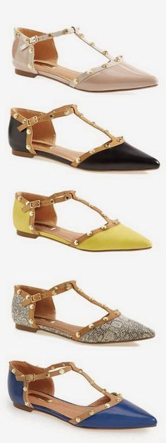 Style Guide:  Valentino Rockstud Knockoffs for Under $100!