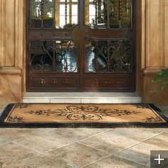 I Need A New Front Door Mat And This One From Frontgate Would Look Great