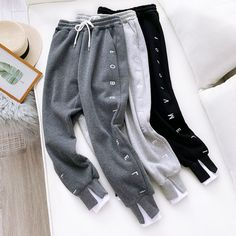 Online shopping for Women Clothing with free worldwide shipping Cute Comfy Outfits, Cute Outfits For Kids, Cool Outfits, Teen Fashion Outfits, Retro Outfits, Cute Sweatpants, Clothing Photography, Pants For Women, Clothes For Women