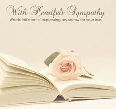Condolence Deepest Sympathy Cards With Beautiful Messages. Share these lovely sympathy, condolences cards with grief stricken family and friends. Sympathy Messages For Loss, Words Of Sympathy, Condolences Quotes, Sympathy Cards, Sympathy Prayers, Sympathy Notes, Greeting Cards, Deepest Sympathy, Books