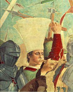 Battle between Heraclius and Chosroes (detail) : PIERO della FRANCESCA : Art Images : Imagiva