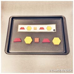 Teaching Patterning in FDK - Part 2 - A Pinch of Kinder Patterning Kindergarten, Kindergarten Learning, Learning Activities, Preschool Activities, Teaching, Pattern Blocks, Block Patterns, Math Patterns, Literacy Centers