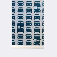 ferm LIVING webshop - Kids Rush Hour Wallpaper
