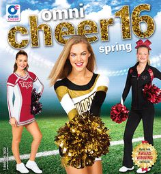 The 2016 Spring Catalog is now available! Shop it: www.omnicheer.com