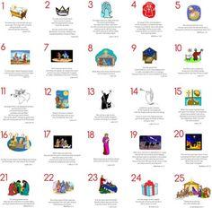 Christmas Advent Ideas - Teach Beside Me