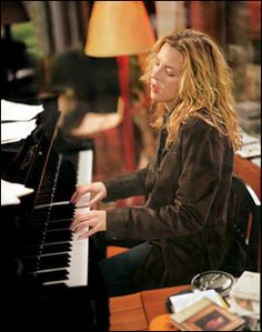 Diana Krall - Only Trust Your Heart- Fabulous smooth jazz pianist and singer;  I have had the pleasure of seeing her perform live