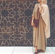 Hijaby Fashion Wear | Nude Classic & Elegant Look | Perfect Style