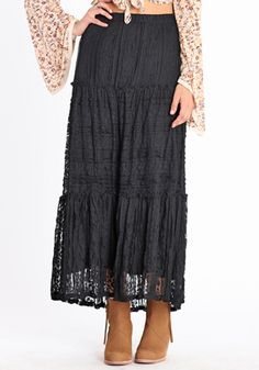 Gypsy-Inspired Skirt