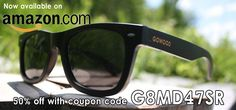 Get 50% discount on our black bamboo wayfarer style Bangkok on Amazon and GoWood.ca. http://www.amazon.com/GOWOOD-Bangkok-Wayfarer-Polarized-Sunglasses/dp/B011GKL7ZE …