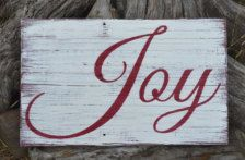 Holidays Christmas Decor Christmas Sign Holiday Decor Porch Vintage Rustic Joy Sign Home Decor Weathered Reclaimed Wood Sign Gift Pallet Christmas, Christmas Signs Wood, Holiday Signs, Country Christmas, Christmas Art, Christmas Projects, Christmas Holidays, Christmas Ideas, Christmas Sayings