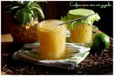 confiture ananas gingembre citron vert