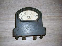 Altes Amperemeter 30er 40er Jahre Gusseisen Massiv bis 40 AMP.
