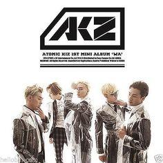 ATOMIC KIZ (AKZ) - WA [1ST MINI ALBUM] + GIFT