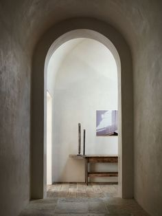 Interior Design Addict: island architects with atelier AM: alexandra + michael misczynski / el montevideo residence, rancho santa fe Alice Coltrane, Wabi Sabi, Architecture Details, Interior Architecture, Santa Fe Interiors, Arch Doorway, Entrance, Modern Ranch, Interior Decorating