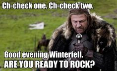 One does not simply rock the party.