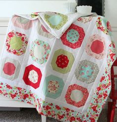 Cluck Cluck Sew: Dots and pink