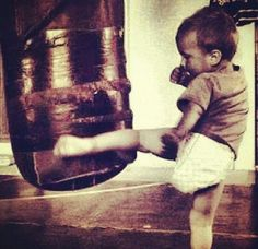 Muay Thai for itty bitty kids!!! Aww I want to run little muay thai classes!!