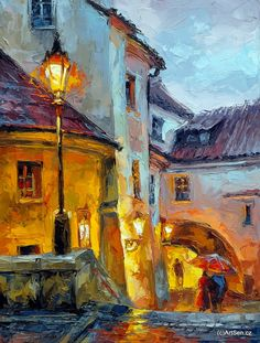 Prague, Fine Art, Artist, Painting, Watercolors, Artworks, Artists, Painting Art, Paintings