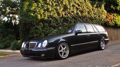 Mercedes Benz W210 Wagon on OZ Mito Wheels 01