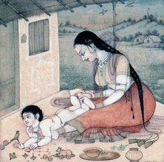 Shantala, masaje infantil por Mahaveer Swami -