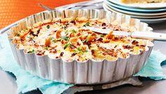 Kantarellipiirakka - K-ruoka Quiche, Mashed Potatoes, Macaroni And Cheese, Stuffed Mushrooms, Yummy Food, Cooking, Breakfast, Ethnic Recipes, Koti