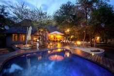 Mvuradona Safari Lodge Marloth Park Situated in the bushveld along Crocodile River, Mvuradona Safari Lodge features an outdoor pool and guest lounge. It is only 15 km from Kruger National Park's Crocodile Bridge Gate. Marloth Park, Safari, Game Lodge, Outdoor Pool, Outdoor Decor, Private Games, Kruger National Park, Good Night Sleep, Lodges