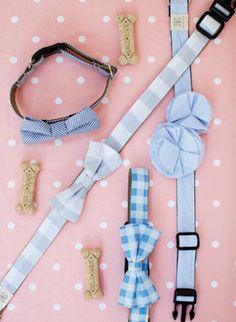 doggie bow tie collars!