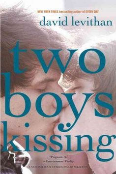 Two Boys Kissing by David Levithan is a 2014 Stonewall Book - Mike Morgan & Larry Romans Children's & Young Adult Literature Honor Book for exceptional merit of a children or teen work relating to the gay, lesbian, bisexual, and transgender experience. David Levithan, This Is A Book, The Book, Ya Books, Books To Read, Greek Chorus, Eleanor And Park, National Book Award, Ya Novels