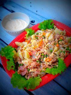 Salada russa na varoma
