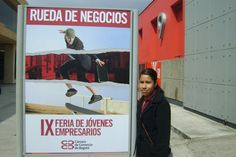 Imágenes de Monse Moreno Comercio Int. En la IX Feria de Jóvenes Empresarios en Bogotá, Colombia.