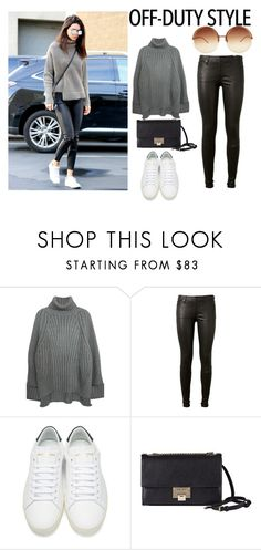 """get that look"" by ffashonista-101 ❤ liked on Polyvore featuring AG Adriano Goldschmied, Yves Saint Laurent, Jimmy Choo and Linda Farrow"
