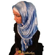 shaded blue hijab <3