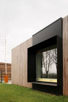Image detail for -Office DC by Graux & Baeyens architecten & Gent-Zeehaven & bel& Image detail for -Office DC by Graux & Baeyens architecten & Gent-Zeehaven & belgium & & The post Image detail for -Office DC by Graux & Baeyens architecten Facade Architecture, Residential Architecture, Wooden Architecture, Architecture Interiors, Facade Design, Exterior Design, Casas Containers, Exterior Cladding, Timber Cladding