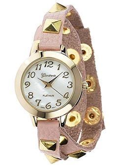Women's Studded Wrap Watch Color: Pink Geneva https://www.amazon.com/dp/B00DD67M8Q/ref=cm_sw_r_pi_dp_x_fxrwybYBKRZ7H