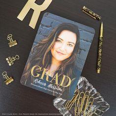 Holographic Glitter, Gold Glitter, Copper Rose, Rose Gold, Graduation Invitations College, Graduation Celebration, Graduation Announcements, Grad Parties, Press Photo