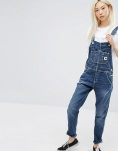 Carhartt WIP | Carhartt WIP Bib Overall Overalls With Front Logo