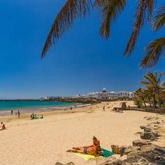 Playa de Costa Teguise, Lanzarote - Islas Canarias