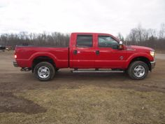 2011 Ford F350 Pickup - Online Auction Ending Monday, April 13, 2015 - Prairie Farm, Wisconsin - Hansen & Young, Inc.
