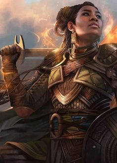 Fantasy Art Characters Fantasy art characters are character designs that push the limits of imagination. Each character gives us insight . 3d Fantasy, Fantasy Warrior, Fantasy Women, Fantasy Artwork, Black Characters, Dnd Characters, Fantasy Characters, Female Characters, Black Girl Art
