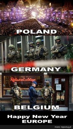 Repostuj.pl :: Główna Poland Germany, History Memes, Best Memes, True Stories, Happy New Year, Belgium, Islam, Funny Pictures, Europe