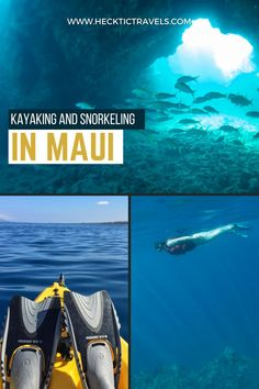 Doing what you love is not always possible. But in Maui, we met a guy who made a living having his dream job: guiding tourist to kayak and snorkel. He might have the best job on the planet.